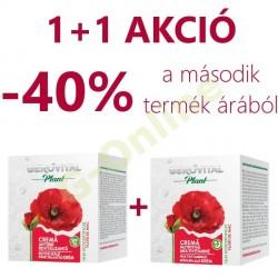 1+1 Gerovital Plant arckrém duopack