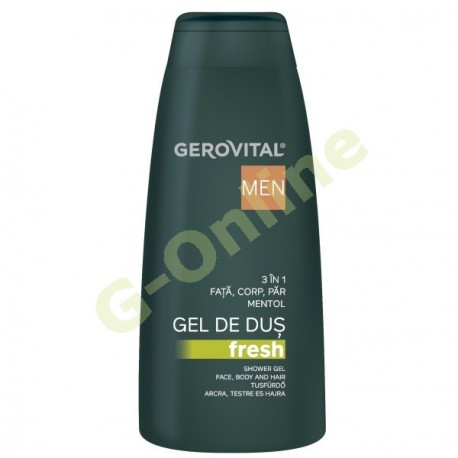 FRESH shower gel 3 in 1, face, body and hair