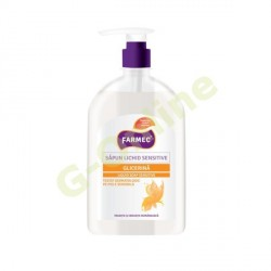 Farmec liquid soap with glycerin