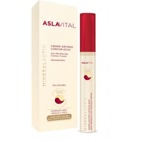 Aslavital MineralActiv Szemránckrém