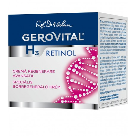 Gerovital H3 Retinol Speciális Bőrregeneráló Krém