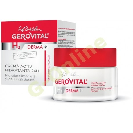 Active Moisturizing cream 24 h