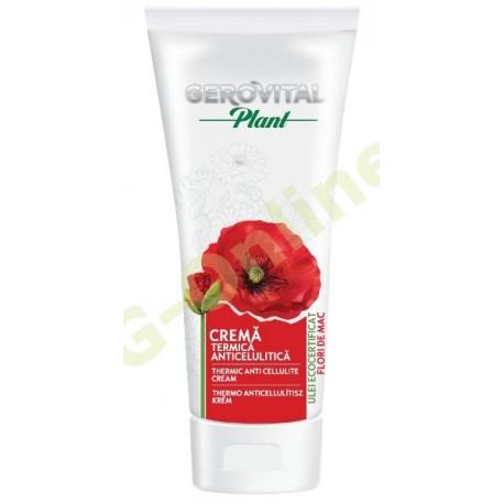 Thermic anti cellulite cream