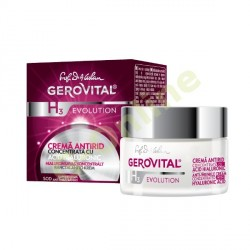 Anti-wrinkle cream concentrated with hyaluronic acis