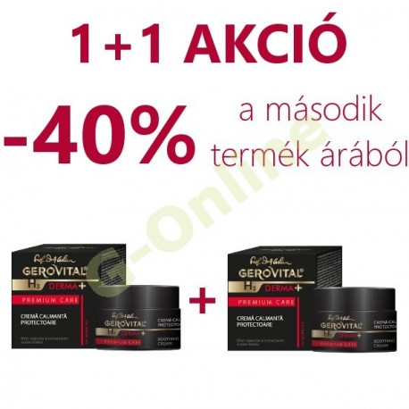 1+1 Soothing protective cream duopack