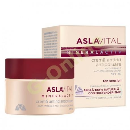 Anti-wrinkle anti-pollution cream SPF10