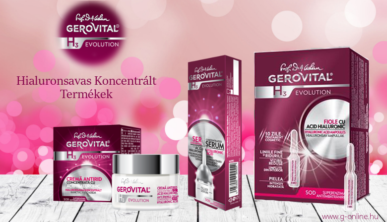 Gerovital H3 Evolution Hyaluronic Acid