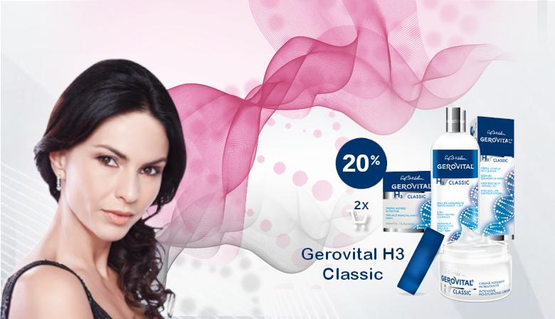Gerovital H3 Classic -20%