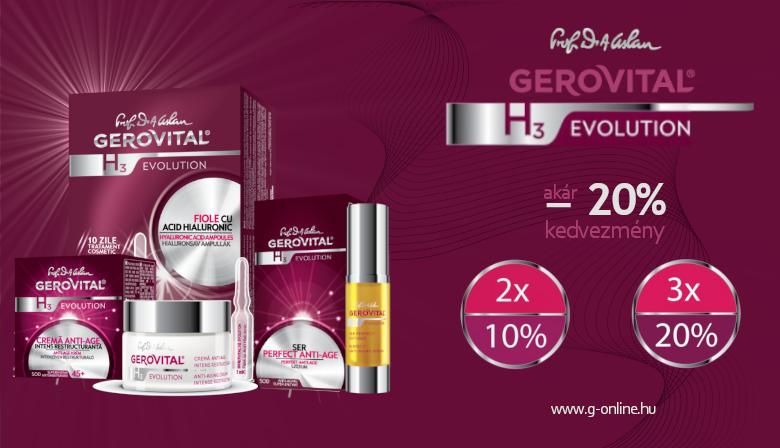 Gerovital Evolution -20%