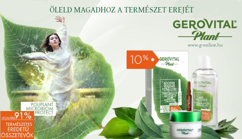 Gerovital Plant Gerovital Plant -10%